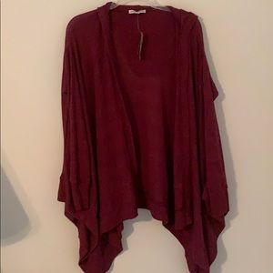 American Eagle open sweater cartigan with pockets
